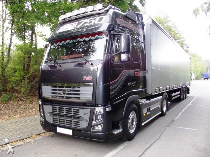gebrauchte volvo fh16 sattelzugmaschine standard 750 4x2. Black Bedroom Furniture Sets. Home Design Ideas