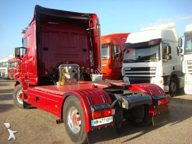 tracteur scania produits dangereux adr t 4x2 gazoil euro 3 occasion n 1142790. Black Bedroom Furniture Sets. Home Design Ideas