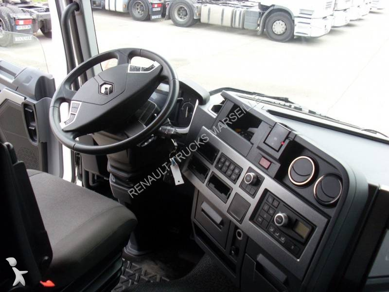 Cabeza tractora renault est ndar gamme t 460 4x2 diesel for Renault gamme t interieur