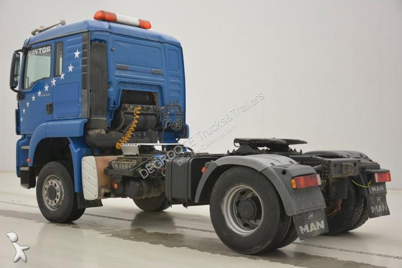 used man tgs standard tractor unit 4x4 diesel euro 3 n 2119926. Black Bedroom Furniture Sets. Home Design Ideas