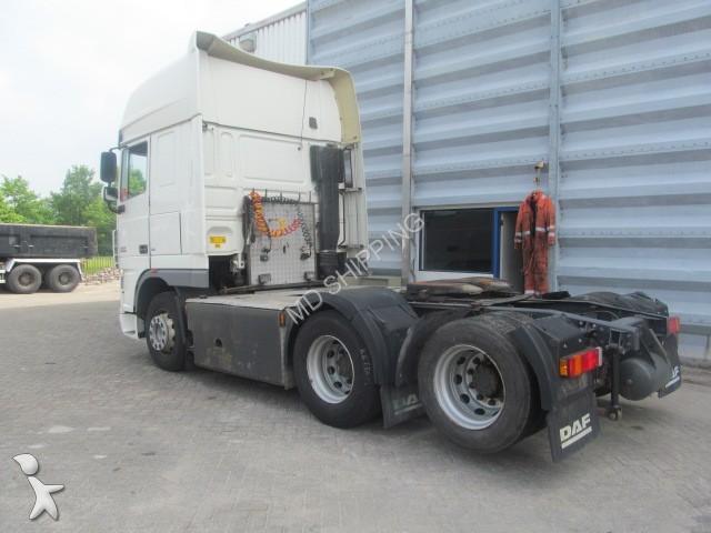 tracteur daf standard xf 105 510 6x2 manuel 10 tyres euro