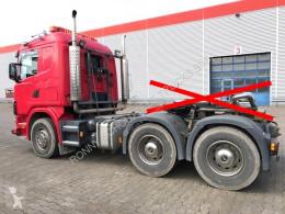 tracteur Scania standard R164 GA6x4NZ 480 R164 GA6x4NZ 480 mit Bullbar, Retarder, Hydraulik 6x4 Gazoil Euro 3 Système hydraulique occasion - n°2674728 - Photo 7