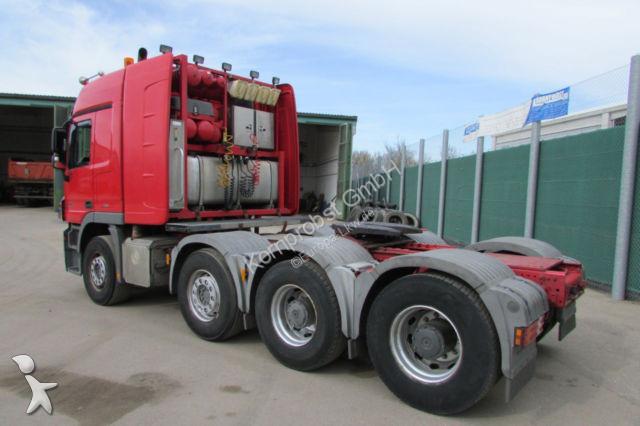 tracteur mercedes convoi exceptionnel 4155 ls 8x4