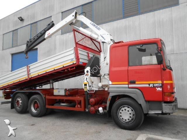 camion renault benne major r420 euro 1 occasion n 1009722. Black Bedroom Furniture Sets. Home Design Ideas