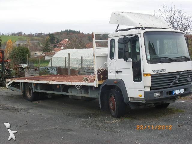 camion volvo porte engins fl6 615 4x2 gazoil euro 2