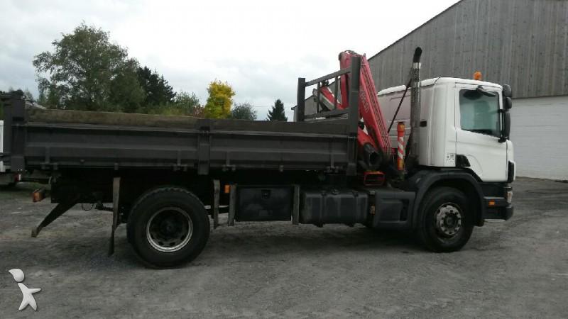 camion scania tri benne d 94d230 4x2 gazoil euro 3 occasion n 1048972. Black Bedroom Furniture Sets. Home Design Ideas
