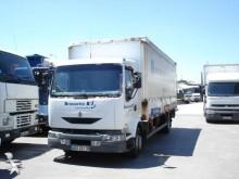 camião caixa aberta com lona Renault