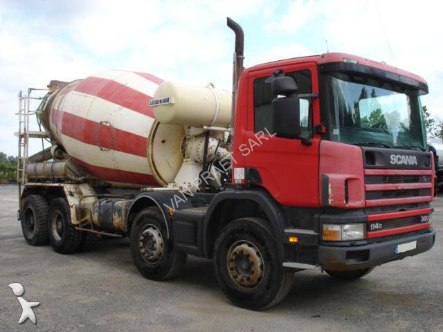 camion scania b ton toupie malaxeur c 114c380 8x4 gazoil euro 2 occasion n 1076614. Black Bedroom Furniture Sets. Home Design Ideas