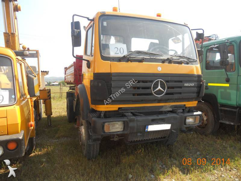used mercedes 2024 tipper truck 4x4 diesel euro 2 n 1092722. Black Bedroom Furniture Sets. Home Design Ideas