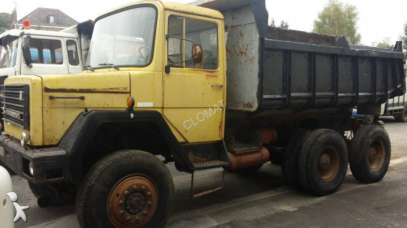 camion iveco benne magirus 6x6 euro 6 occasion n 1111563. Black Bedroom Furniture Sets. Home Design Ideas