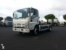 Isuzu hook lift truck