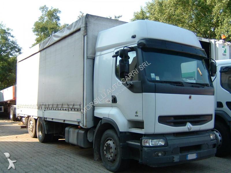 camion renault savoyarde premium euro 2 occasion n 1138829. Black Bedroom Furniture Sets. Home Design Ideas