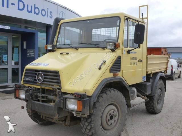 camion unimog benne u418 4x4 gazoil euro 2 occasion n 1200094. Black Bedroom Furniture Sets. Home Design Ideas