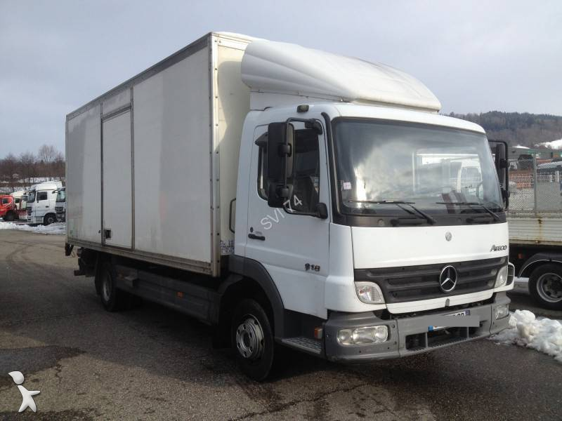 camion mercedes fourgon atego gazoil euro 3 hayon occasion n 1210809. Black Bedroom Furniture Sets. Home Design Ideas