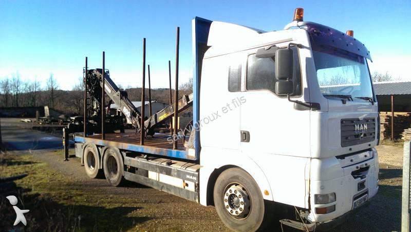 gebrauchter man holztransporter 6x4 diesel euro 3 n 1234486. Black Bedroom Furniture Sets. Home Design Ideas