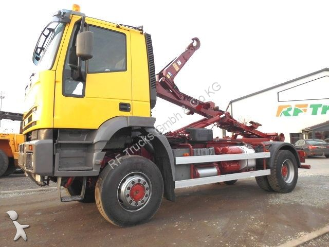 camion iveco polybenne 190e44 allrad hiab multilift bis 5m 4x4 ahk 50 4x4 gazoil euro 3. Black Bedroom Furniture Sets. Home Design Ideas