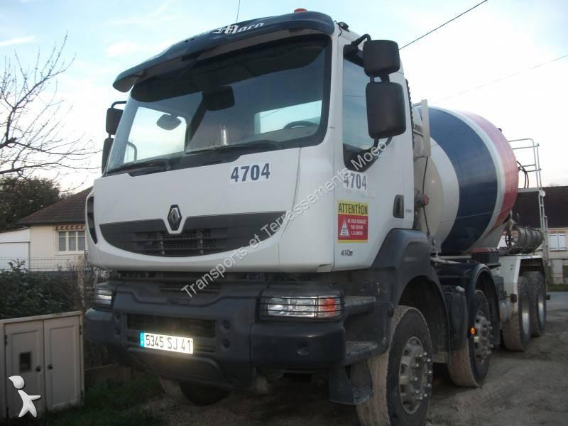 camion renault b ton toupie malaxeur kerax 410 dxi 8x4 gazoil euro 4 occasion n 1245219. Black Bedroom Furniture Sets. Home Design Ideas