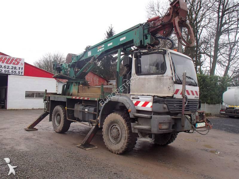 used mercedes atego flatbed truck 1828 4x4 diesel euro 3 n 1263149. Black Bedroom Furniture Sets. Home Design Ideas