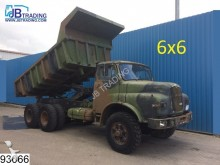 camion MAN 6X6 6x6, Manual, Steel suspension