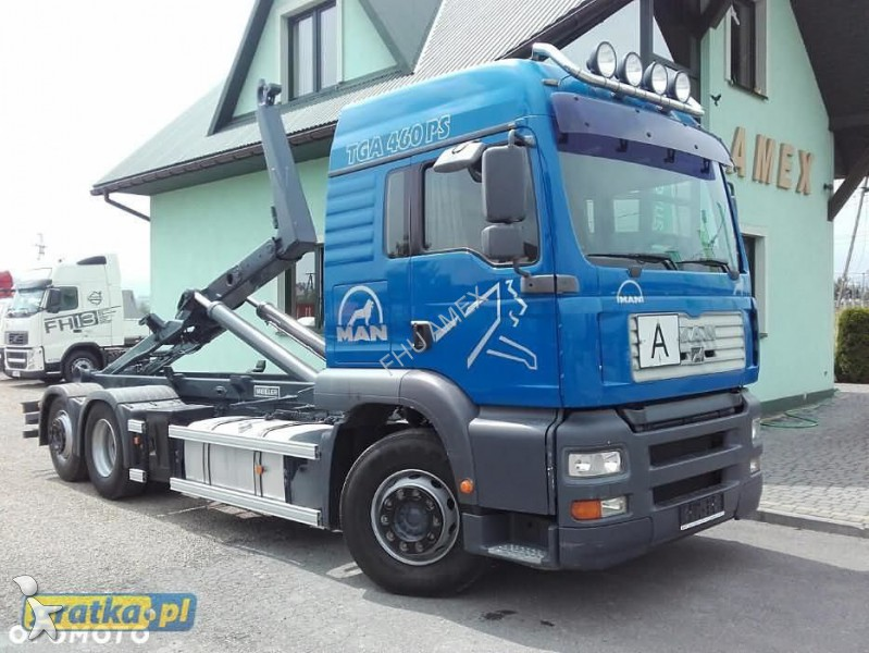 camion multibenne occasion man nc 26 460 tga