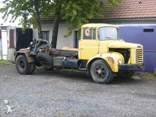 camion berliet polybenne glr 4x2 occasion n 136260. Black Bedroom Furniture Sets. Home Design Ideas