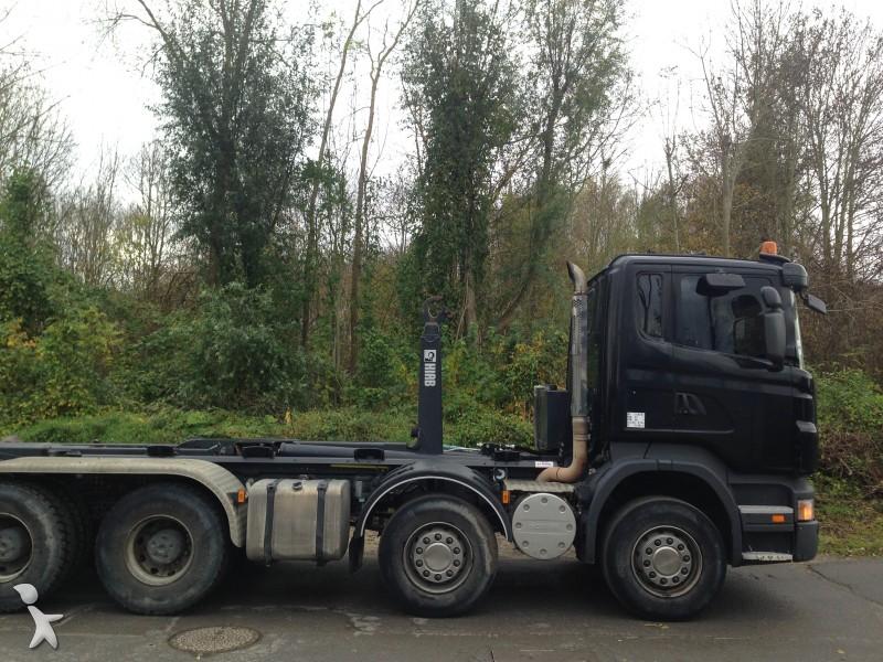 camion scania benne r420 8x4 gazoil euro 4 occasion n 1373440. Black Bedroom Furniture Sets. Home Design Ideas