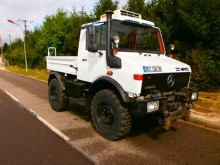 Mercedes Unimog truck