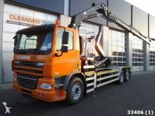 camion DAF 85 FAN CF 410 Euro 5 HMF 20 ton/meter Kran