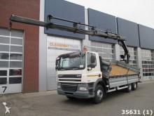 camión DAF FAT 85 CF 410 6x4 Euro 5 Hiab 24 ton/meter Kran