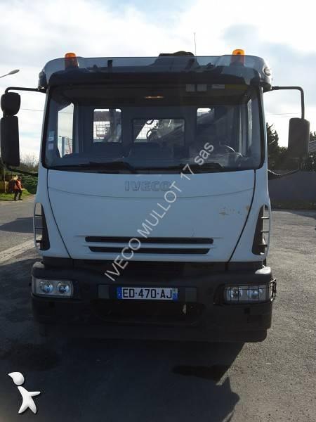 camion bi benne occasion iveco eurocargo ml 180 e 24 k. Black Bedroom Furniture Sets. Home Design Ideas