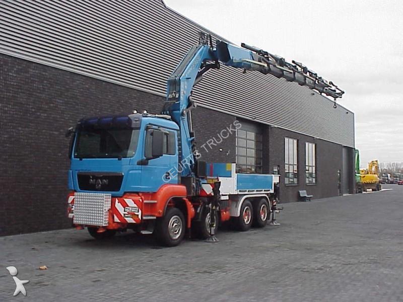 camion man polybenne 35 480 8x4 fassi 1100 axp 28 110t m. Black Bedroom Furniture Sets. Home Design Ideas