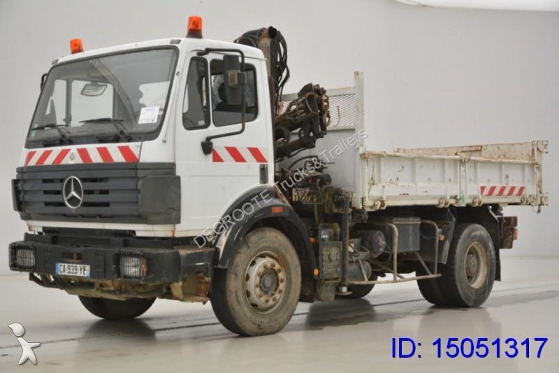 Camion mercedes ribaltabili 4x2 133 annunci di for Rimorchi ribaltabili trilaterali usati