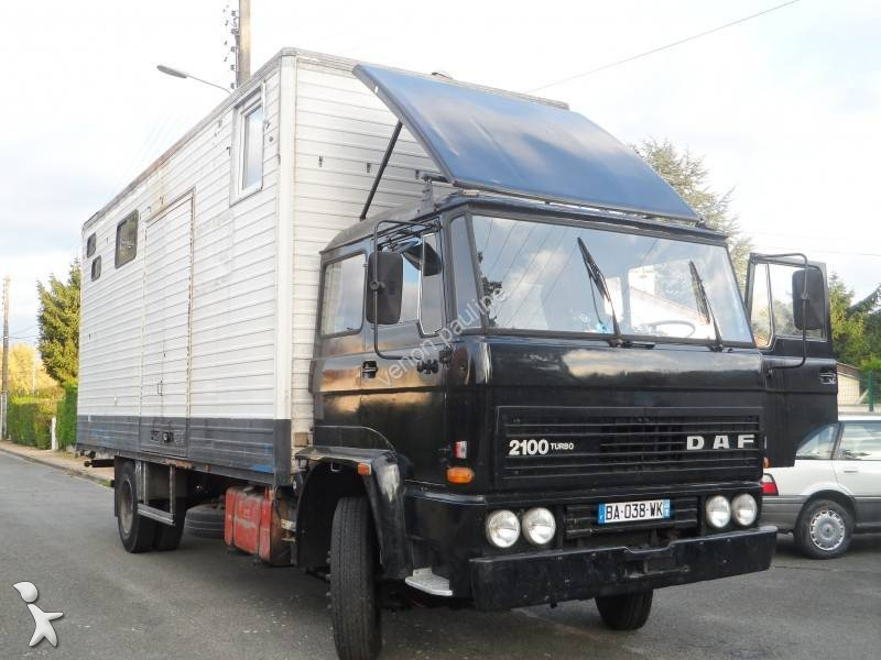 used daf 2100 moving box truck turbo 4x2 diesel n 1508754. Black Bedroom Furniture Sets. Home Design Ideas
