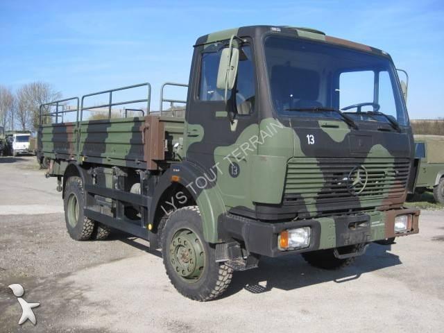 camion mercedes militaire 1017 4x4 gazoil euro 0 occasion n 1511530. Black Bedroom Furniture Sets. Home Design Ideas