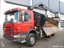 camión Scania P 114.340 6X6 Retarder Manual Full steel Hiab 10