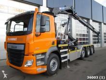 camion DAF CF FAQ 410 Euro 6 HMF 21 ton/meter Kran
