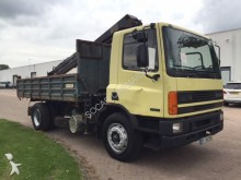 camion DAF Daf 75 Kipper + Kraan