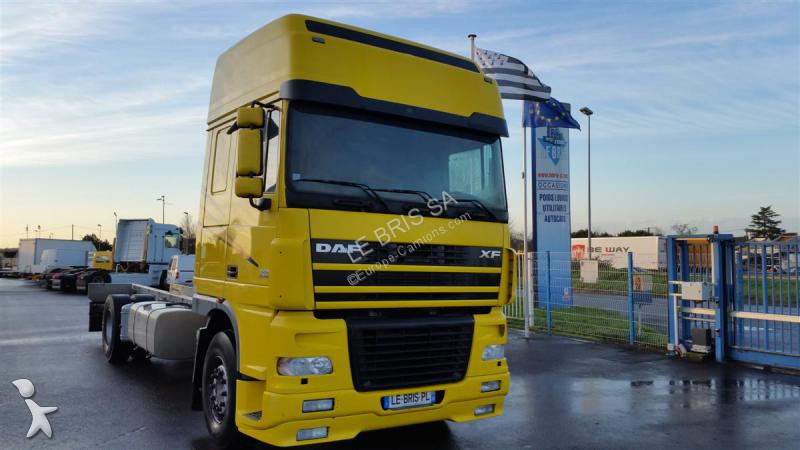 used daf xf95 chassis truck 380 4x2 diesel euro 4 n 1560302. Black Bedroom Furniture Sets. Home Design Ideas