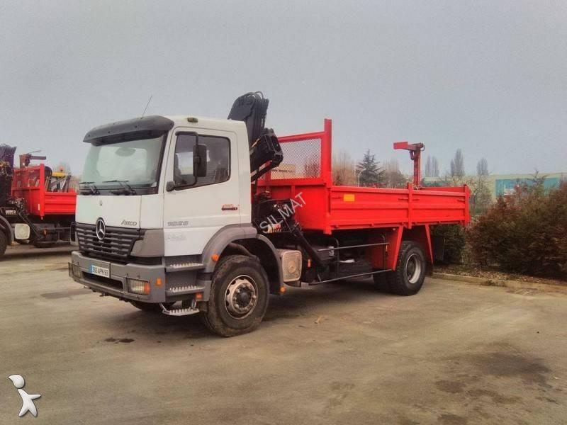 camion mercedes benne atego 1828 k 4x2 gazoil euro 3 occasion n 1573607. Black Bedroom Furniture Sets. Home Design Ideas