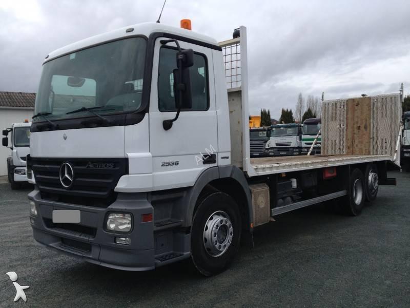 camion mercedes porte engins actros 2536 6x2 euro 4 occasion n 1585538. Black Bedroom Furniture Sets. Home Design Ideas