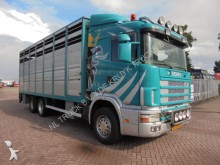 camion Scania R 124 400 6X2 cattle tanspot