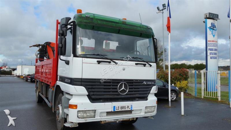 camion mercedes plateau standard actros 2031 4x2 gazoil euro 2 grue occasion n 1598813. Black Bedroom Furniture Sets. Home Design Ideas