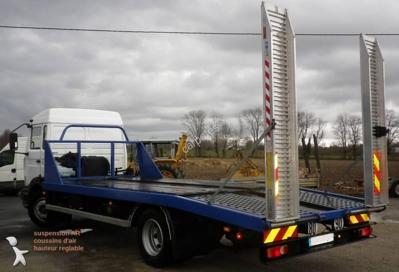 camion renault porte engins midliner 180 4x2 euro 2 occasion n 1604190. Black Bedroom Furniture Sets. Home Design Ideas