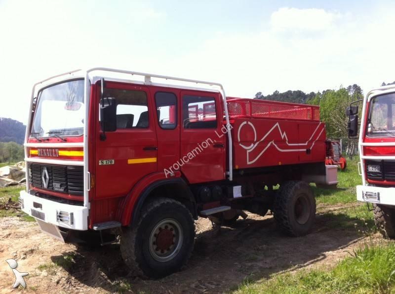 camion renault pompiers gamme s 170 4x4 gazoil euro 0. Black Bedroom Furniture Sets. Home Design Ideas