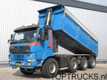 camión Terberg FM2000-T 8x8 TIPPER MANUAL