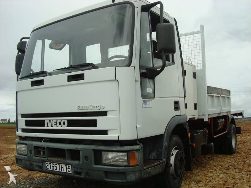 camion iveco benne eurocargo 100e15 4x2 gazoil occasion. Black Bedroom Furniture Sets. Home Design Ideas
