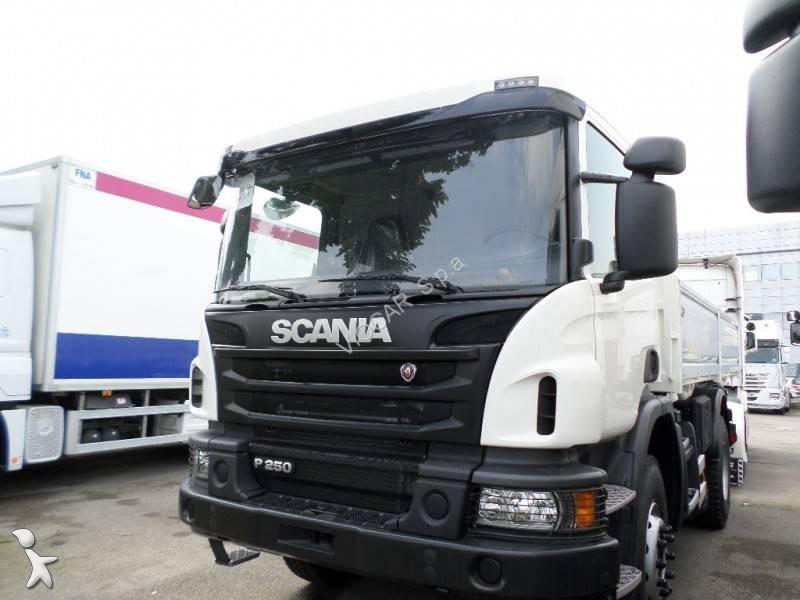camion scania tri benne p 93p250 4x2 gazoil euro 6 neuf n 1653556. Black Bedroom Furniture Sets. Home Design Ideas