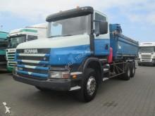 camion Scania T 380 orpedo 6X4 Kipper