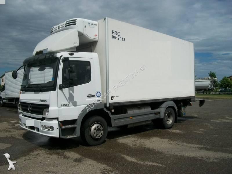 camion mercedes frigo atego 1224 euro 4 occasion n 1662668. Black Bedroom Furniture Sets. Home Design Ideas
