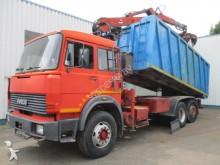 camion Iveco Fiat 190-30, 6X2, Dump truck w/c crane, spring s